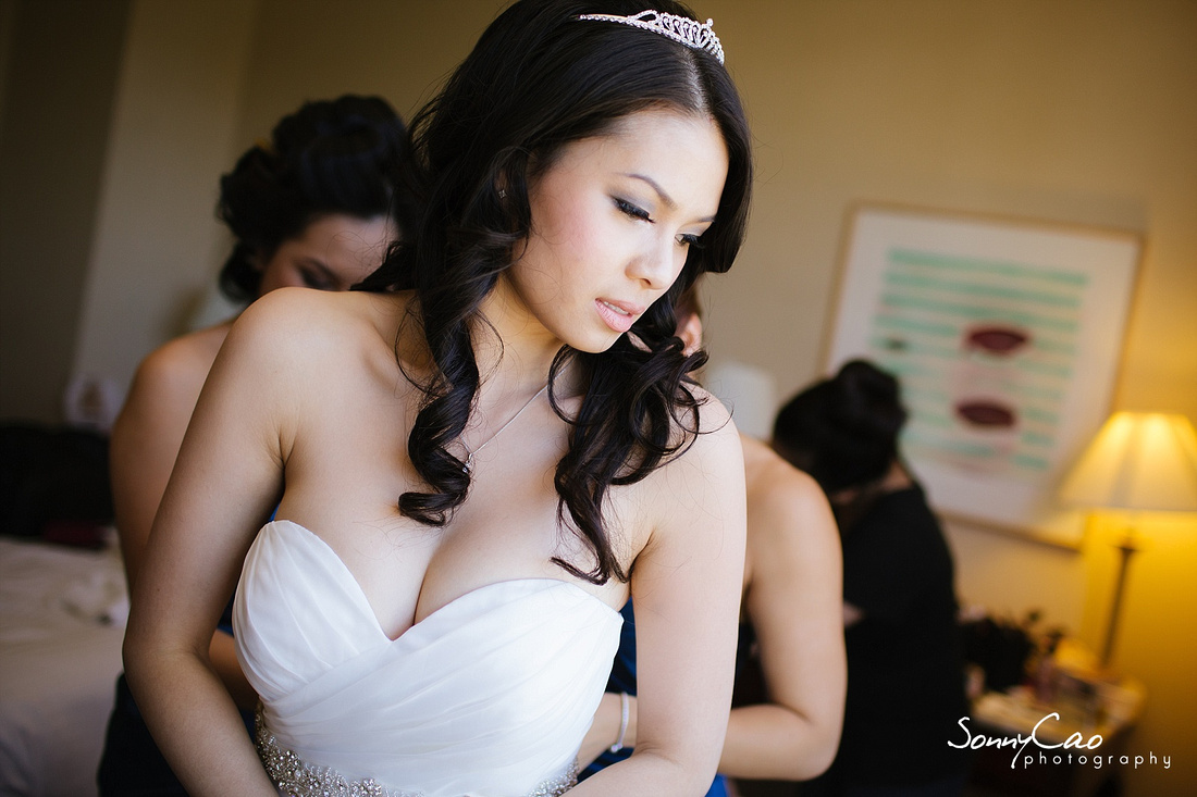Hannah and The Fairmont Hotel and Stanford Wedding