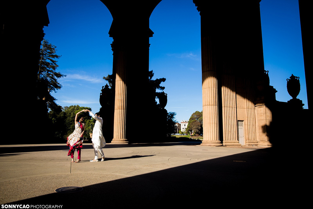 San Francisco, Palace of Fine Arts, Embacadero