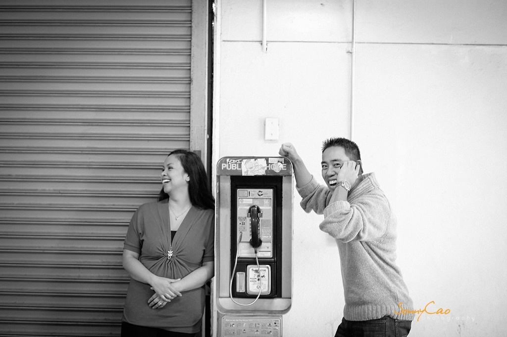 Jenny & Khoi Berkeley UC engagement