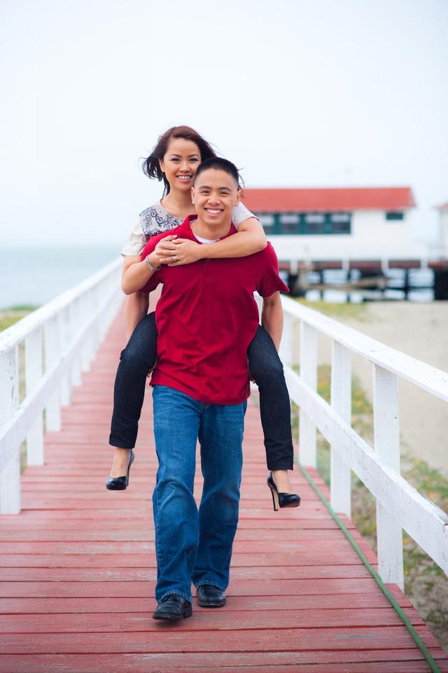 San Jose, San Francisco Engagement Yen and David